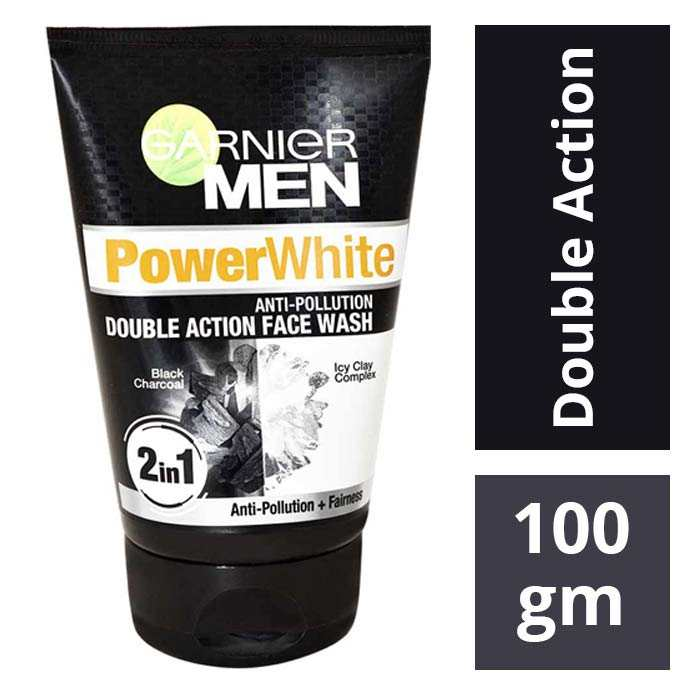 1a3b018c5c Garnier Men Power White Double Action Facewash : Buy Garnier Men Power White  Double Action Facewash Online @ Best Price | DMart - Daily Discounts Daily  ...